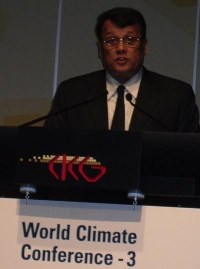 Hon. Mahinda Samarasinghe addressing the WCC-3 sep2009