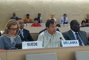 Amb Aryasinha at SR on IDP session