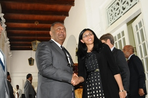 US Assistant Secretary Nisha Biswal visit to Sri Lanka 25aug2015